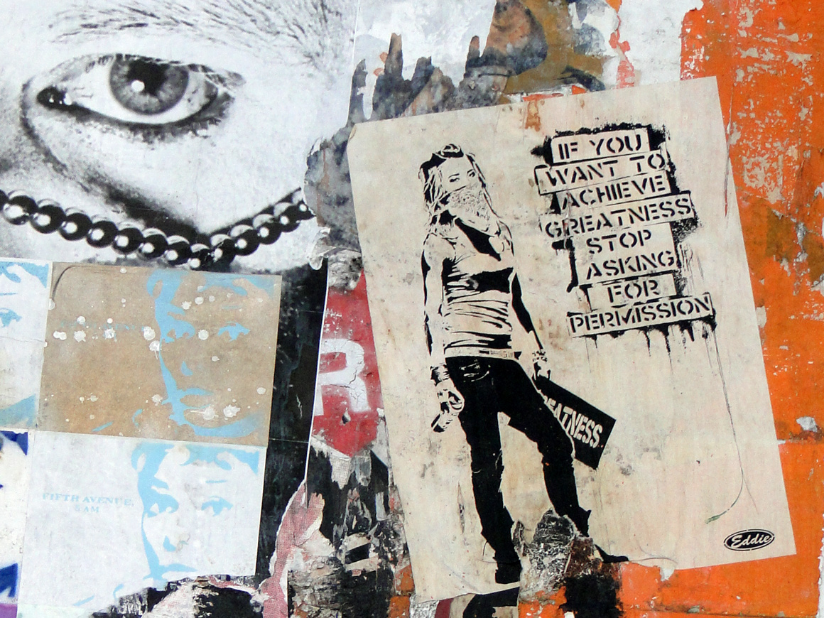 Eddie Colla. If you want to achieve greatness don't ask for permission