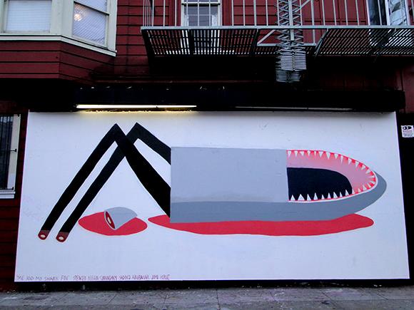 Spencer Keaton Cunningham Shark Mural