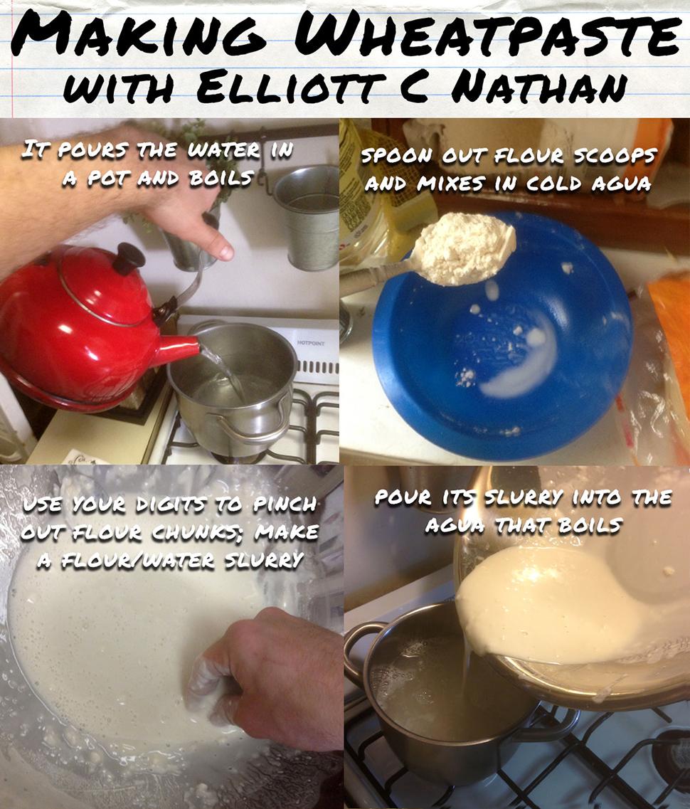 Elliot C Nathan adding water