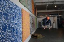 Spencer Keeton Cunningham art at Archetype$ atEmpire seven studios