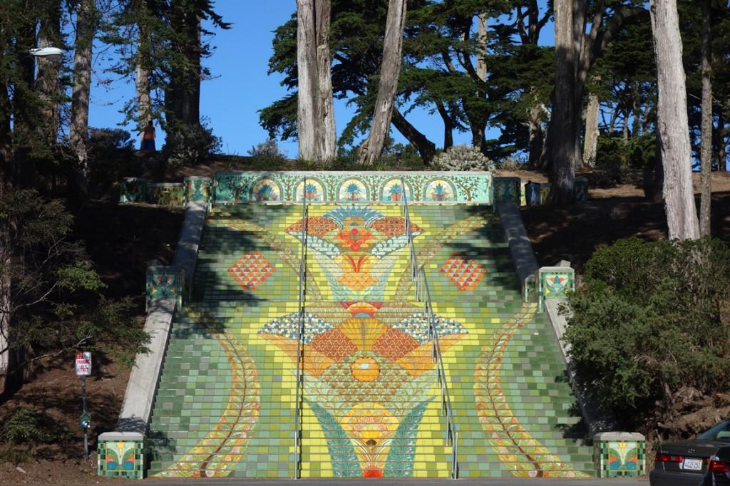 Lincoln Park Steps in San Francisco