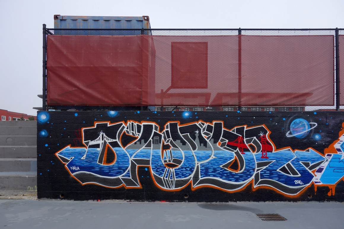 Daper WOD graffiti crew