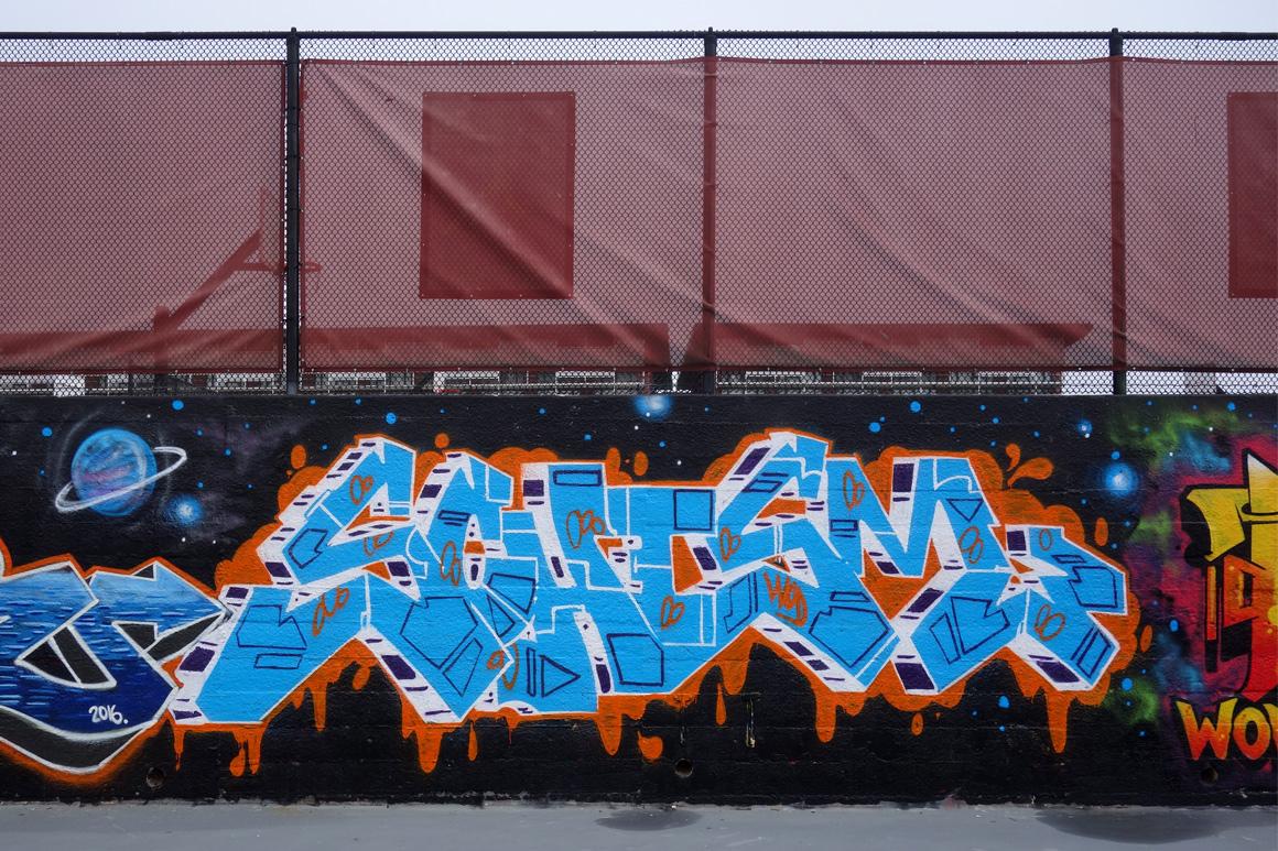 Schism WOD graffiti crew