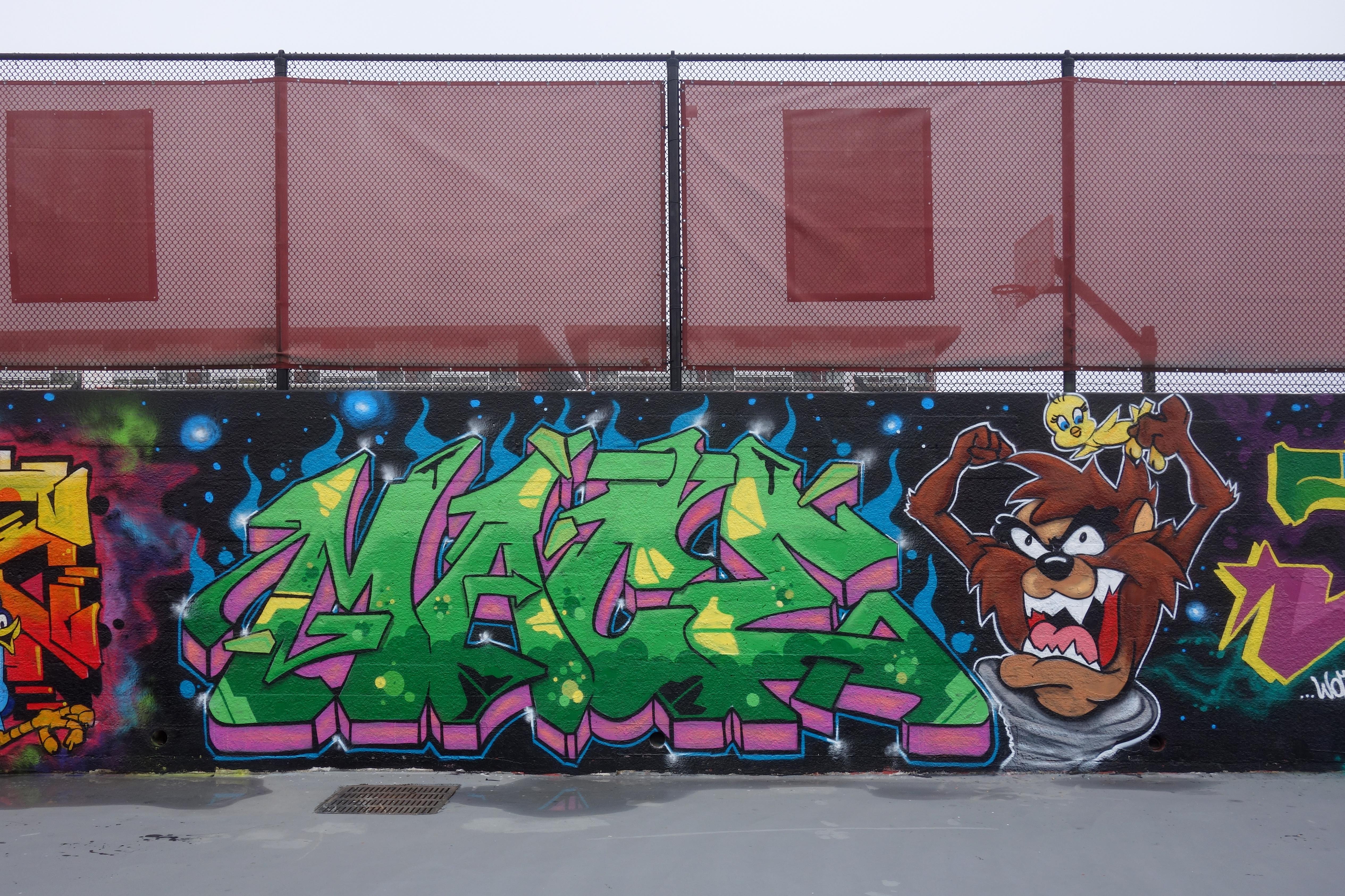 Mace WOD graffiti crew
