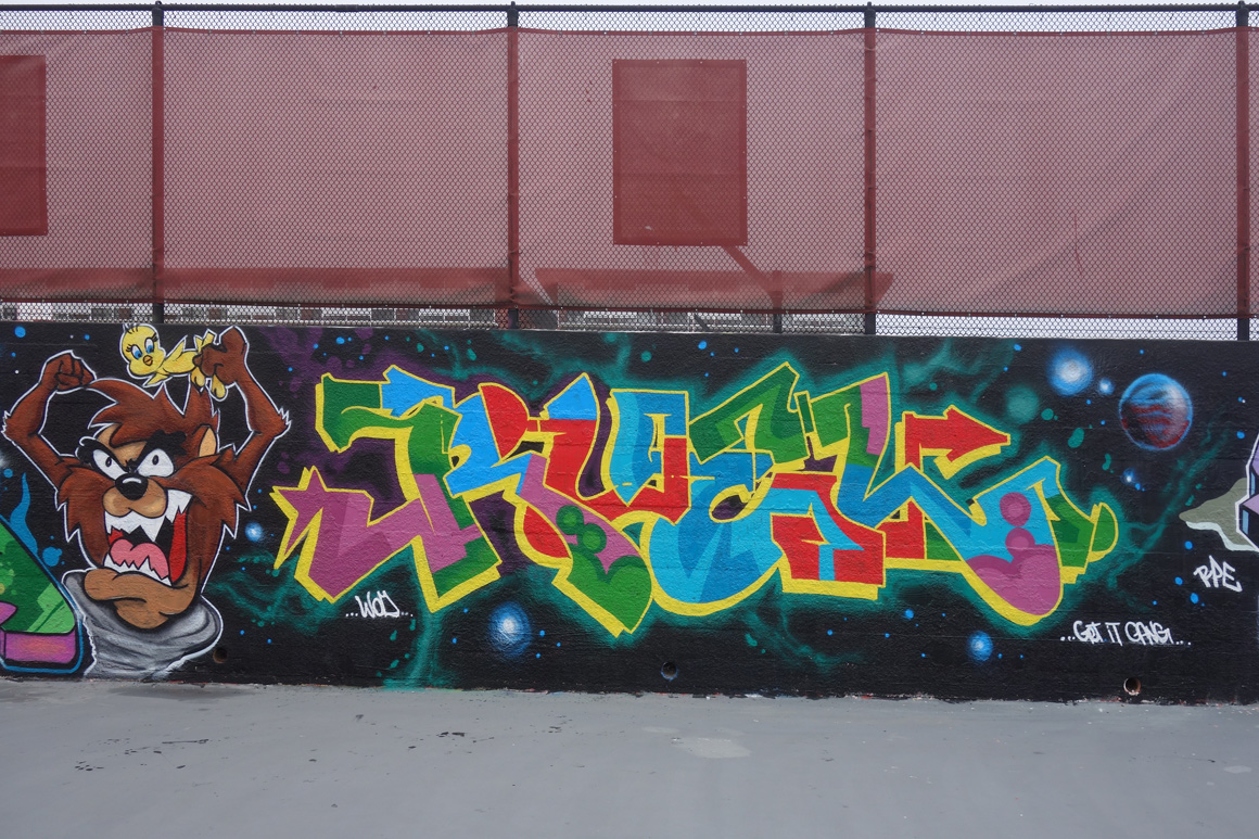 Ruel WOD graffiti crew