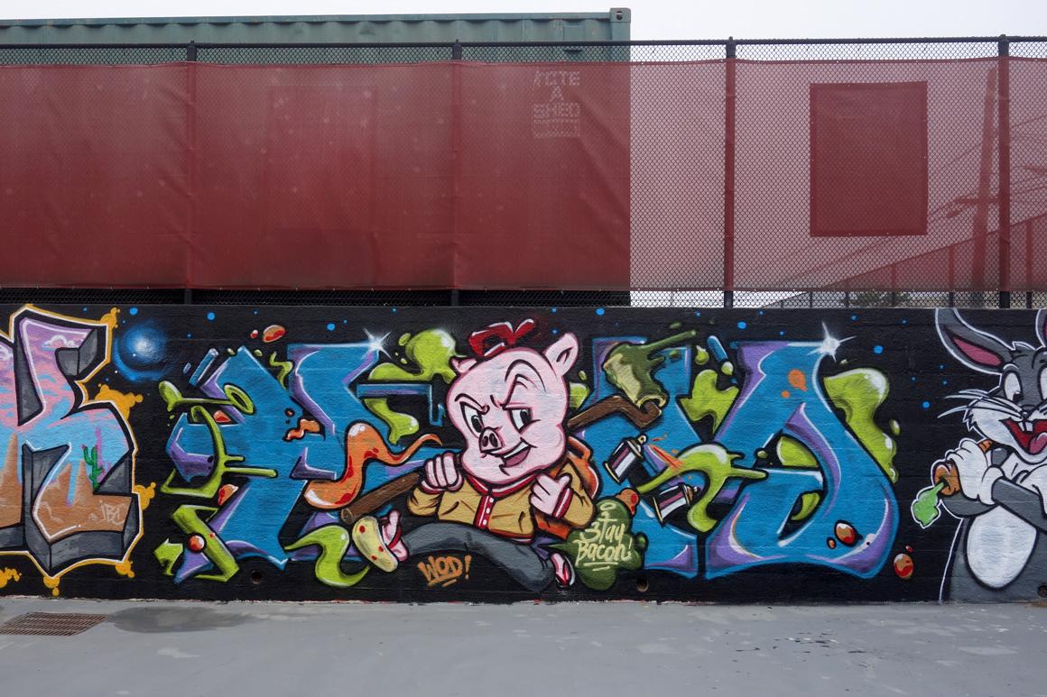 Ham WOD graffiti crew