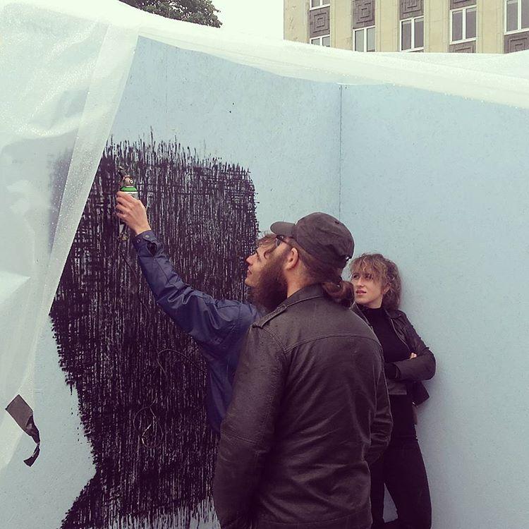 Estonian company SprayPrinter at Tallinn Art Week