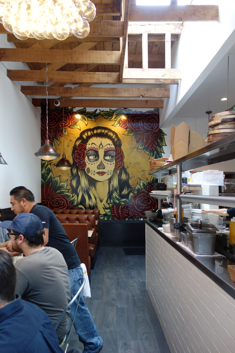 m james mcgowan  art at Papito Hayes on Hayes St in San Francisco, Ca