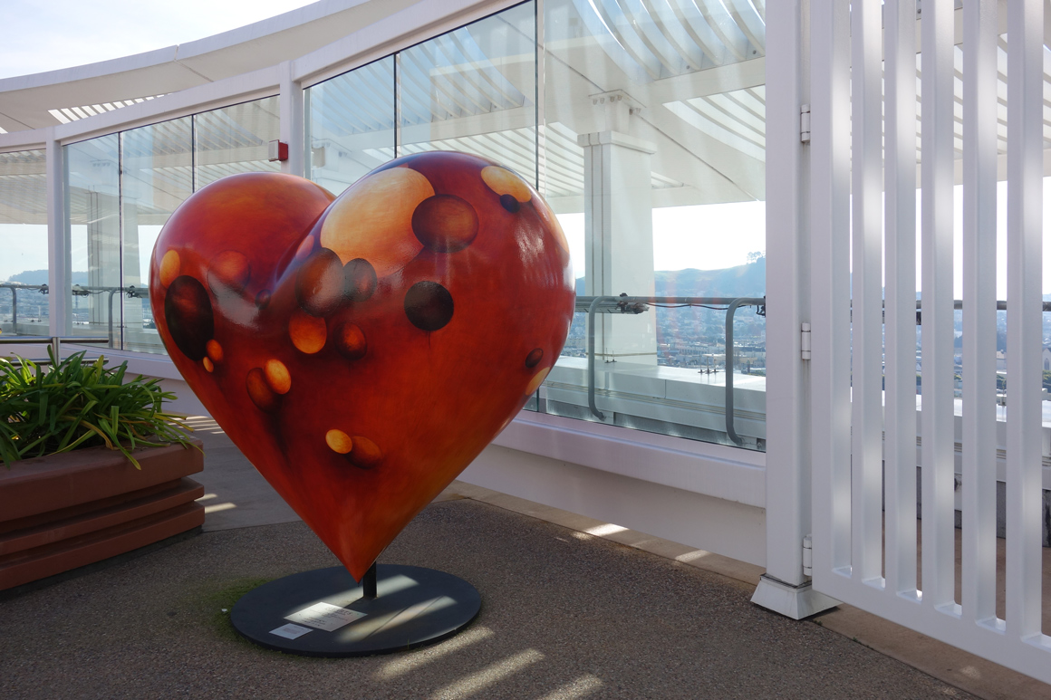 Chosen Ones by Monika Steiner at SF General Hospital Hearts of San Francisco