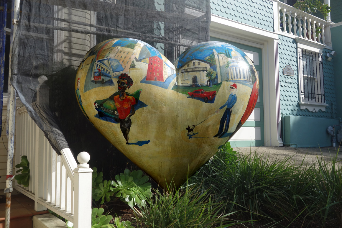 Hearts of San Francisco on Potrero Hill by Alejandro Rubio in San Francisco