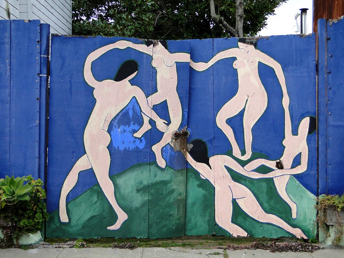Matisse Dance. Street Art SF